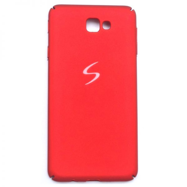 4 Cut iPaky Back Case for Samsung J7 Max Red