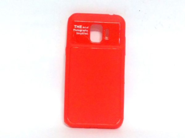 Art of Photography Back Case for Samsung J2 Pro(18) Red