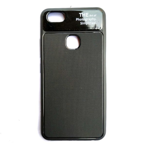 Art of Photography Back Case for Vivo Y83 Black Colour