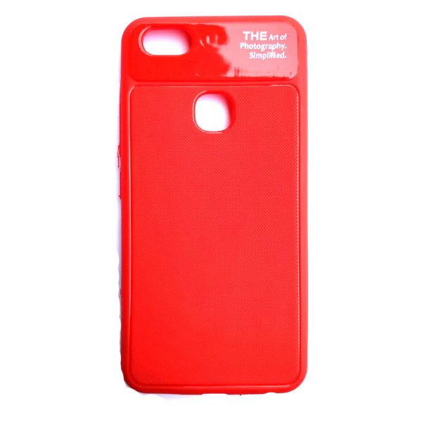 Art of photography back case for Vivo Y83 Red colour