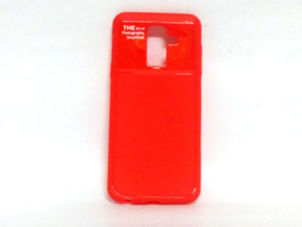 Art of Photography Back Case for Samsung A6 Plus Red