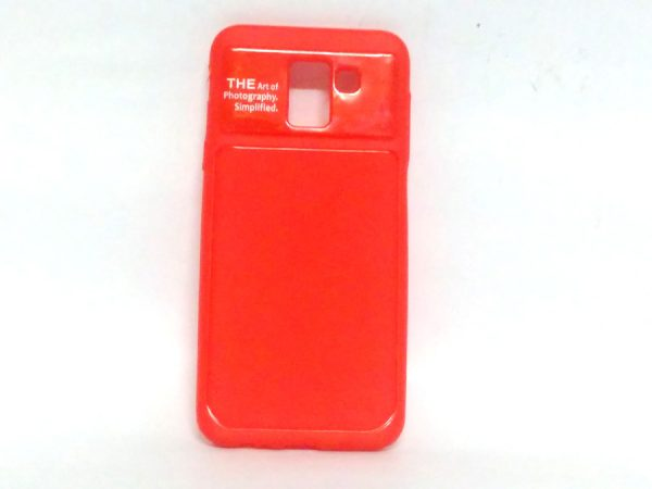 Art of Photography Back Case for Samsung J6(18) Red Colour
