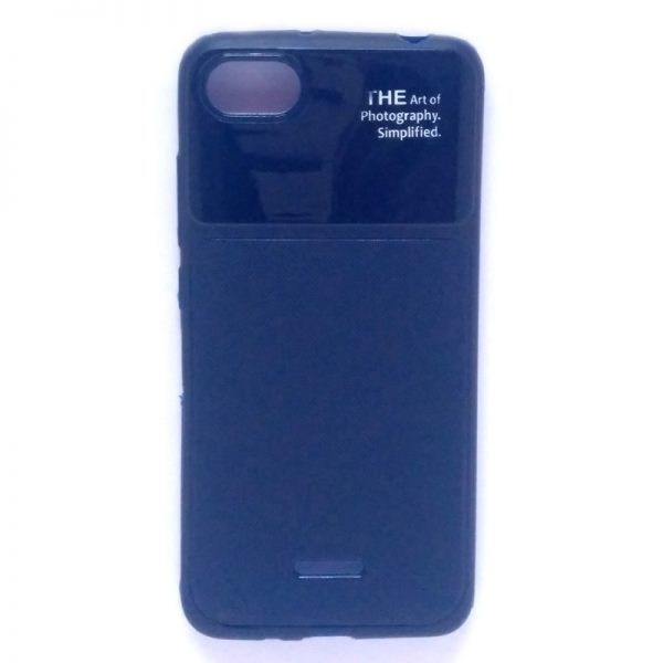 Art of Photography Back Case for Redmi 6A Blue Colour