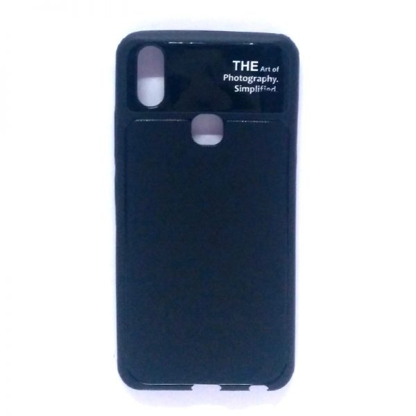 Art of Photography Back Case for Vivo V9 Black Colour