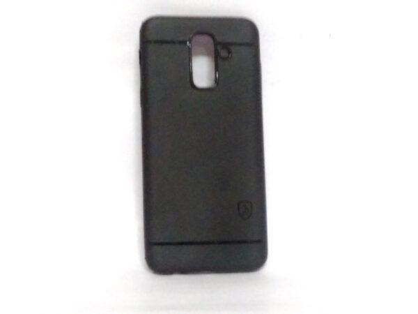 Backline Back Case for Samsung A6 Plus Black Colour