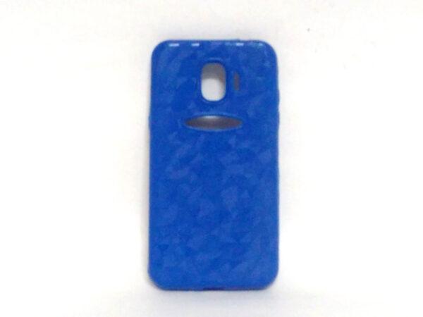 Crystal Back Case for Samsung J2(18) Light Blue Colour