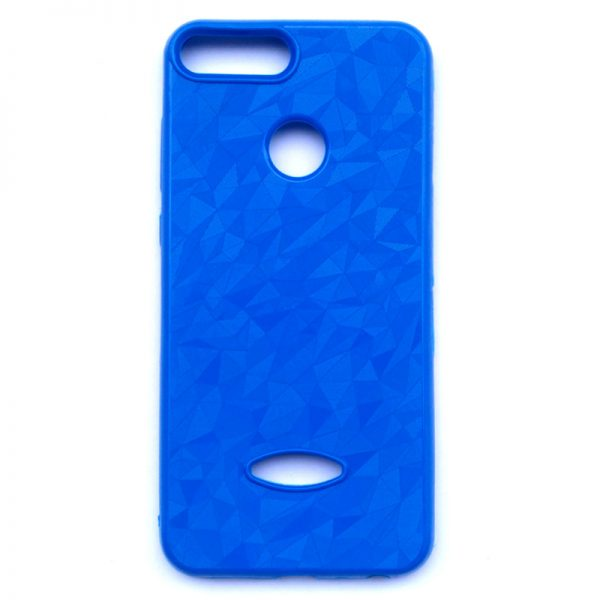 Crystal Back Case for Honor 9 Lite Blue