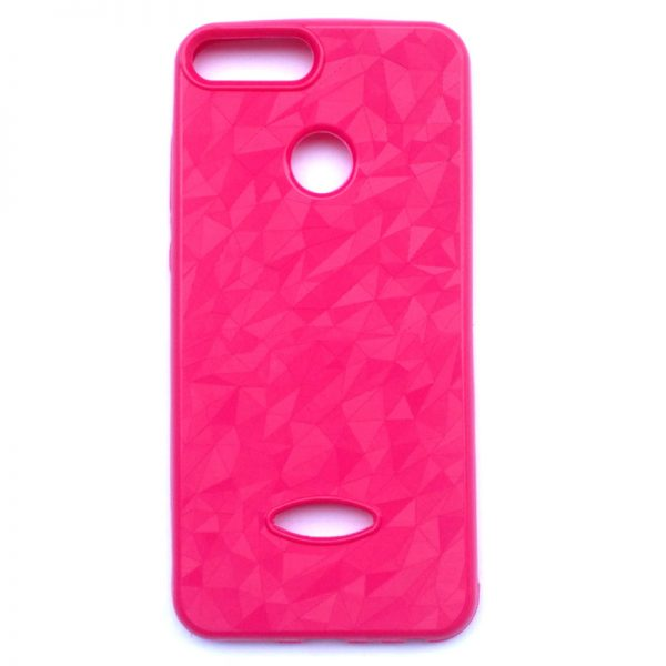 Crystal Back Case for Honor 9 Lite Pink