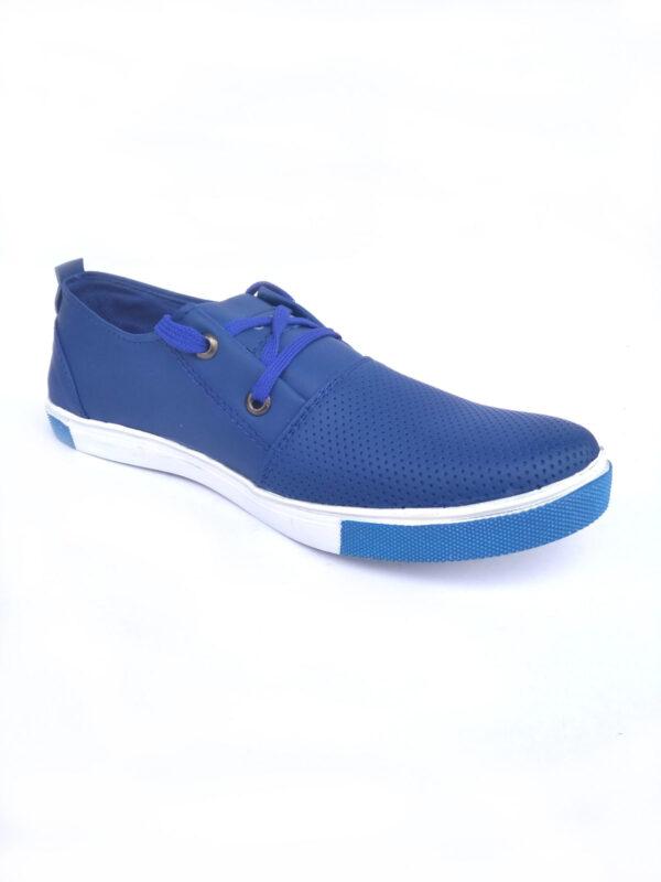 Mens Office Casual Shoe Blue Color