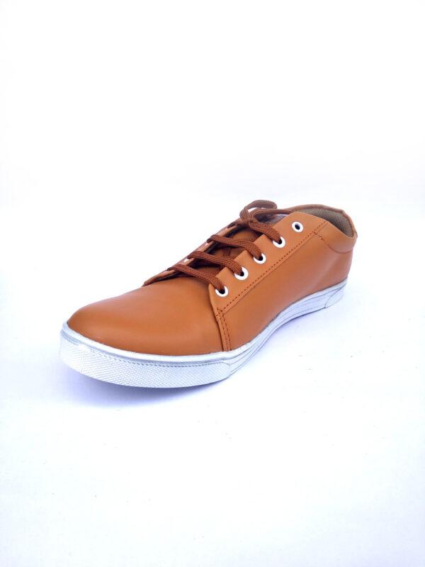 Brown Men's Sneaker for Casual Wear