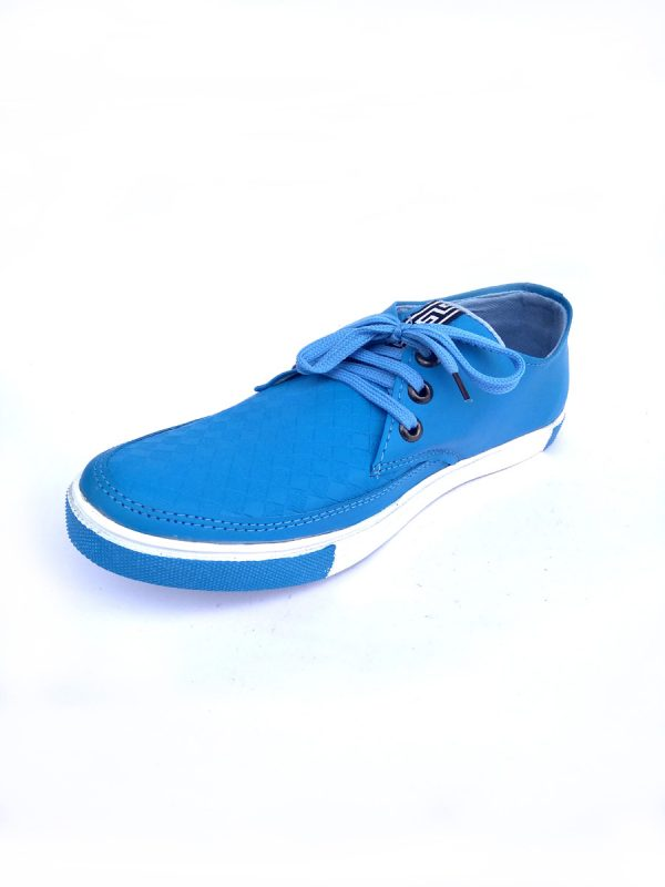 Mens Casual Party Wear Sneaker Zip type Blue