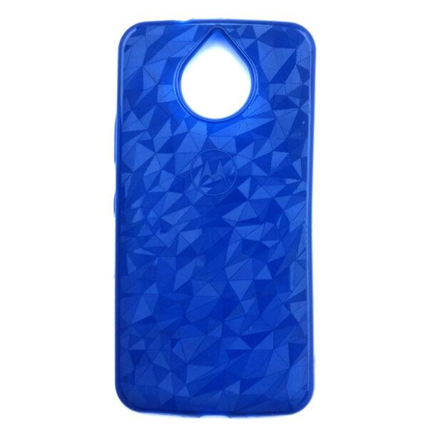 Crystal Back Case for Moto G5S Plus Dark Blue