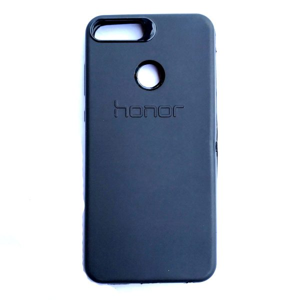 Rainbow back case for Honor 9 Lite Black colour