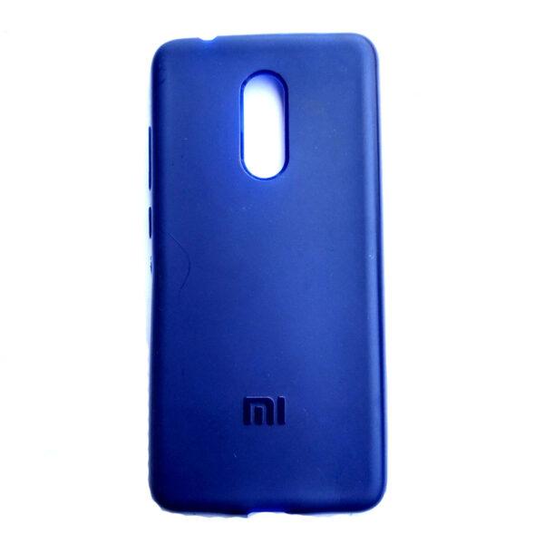 Rainbow back case for Redmi 5 Blue colour