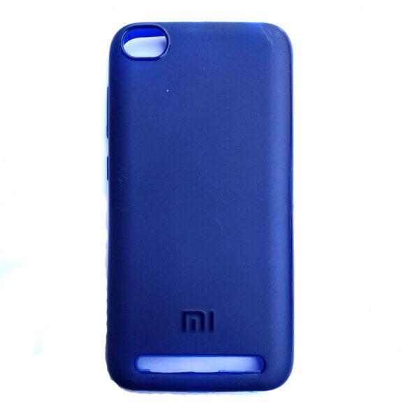 Rainbow back case for Redmi 5A Blue colour