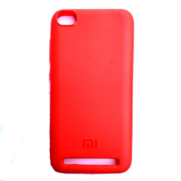 Rainbow back case for Redmi 5A Red colour
