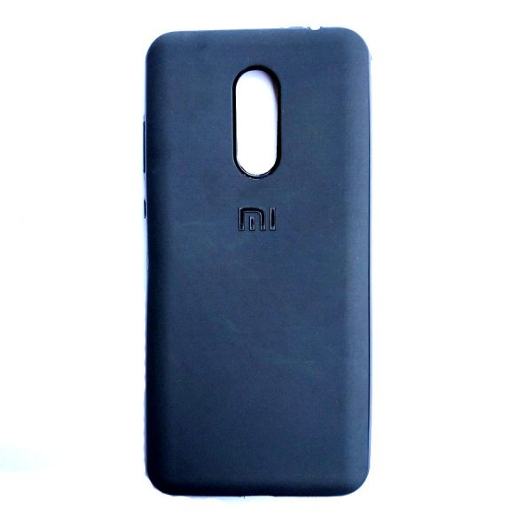 Rainbow back case for Redmi Note 5 Black colour