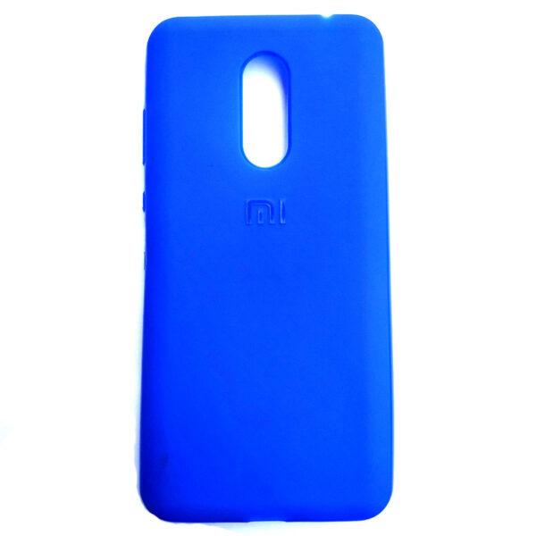 Rainbow back case for Redmi Note 5 Blue colour