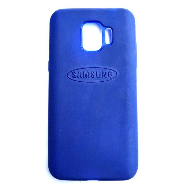 Rainbow back case for Samsung J2 Pro Blue colour