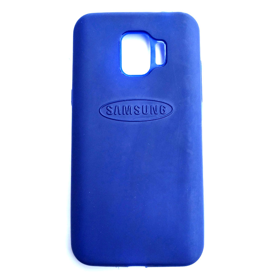 Rainbow back case for Samsung J2 Pro Blue colour