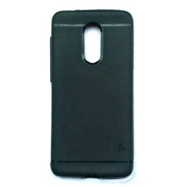 Redmi 5 Stylish Back Cover Black Colour