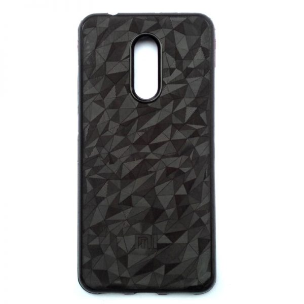Crystal Back Cover For Redmi 5 Brown Colour