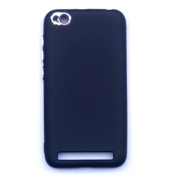 Smart Back Cover For Redmi 5A Black Colour