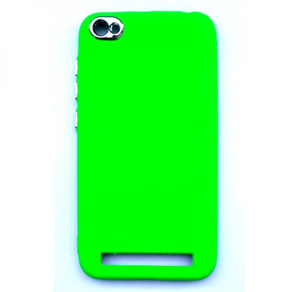 Smart Back Cover For Redmi 5A Dark Green Colour