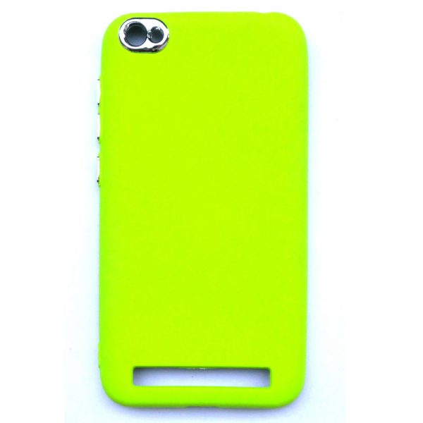Smart Back Cover For Redmi 5A Light Green Colour