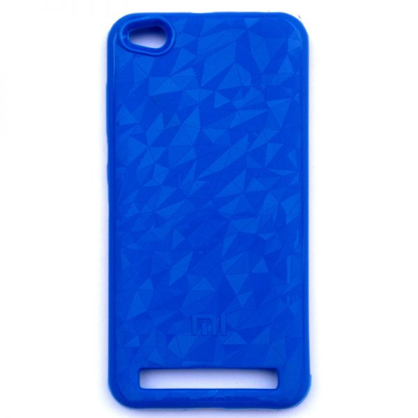 Crystal Back Case For Redmi 5A Dark Blue
