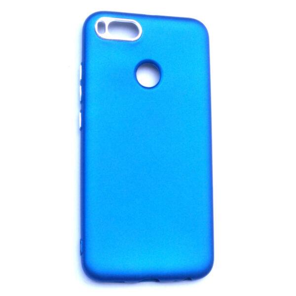 Smart Back Cover For Redmi A1 Blue Colour