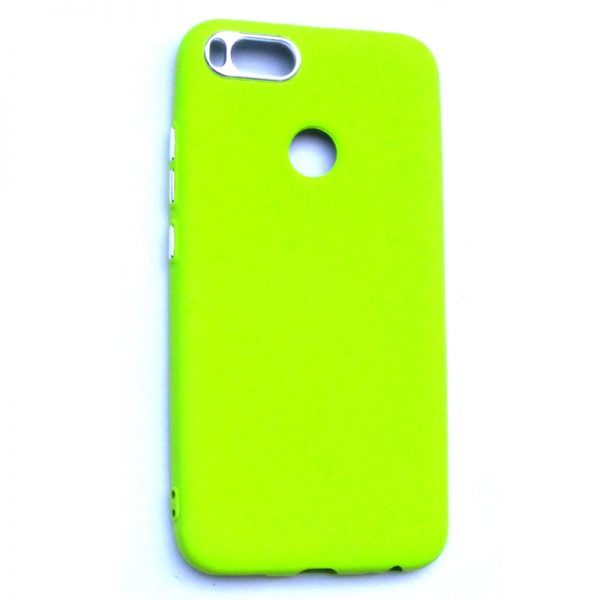 Smart Back Cover For Redmi A1 Light Green Colour