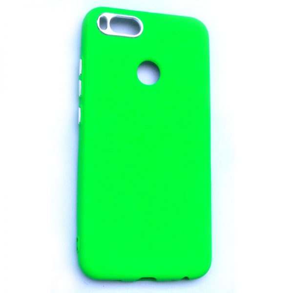 Smart Back Cover For Redmi A1 Dark Green Colour
