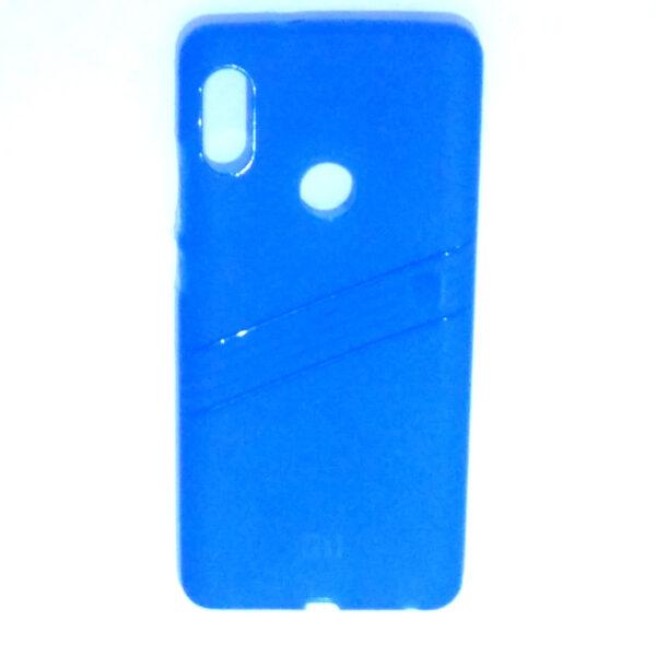 Redmi Note 5 Pro Line Back Cover Blue Colour