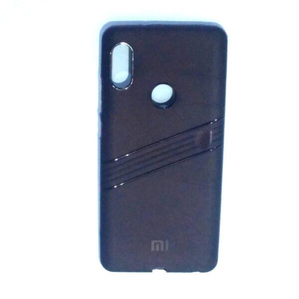 Redmi Note 5 Pro Line Back Cover Brown Colour