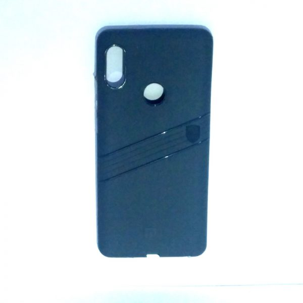 Redmi Note 5 Pro Line Back Cover Grey Colour