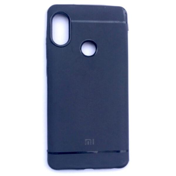 Stylish Redmi Note 5 Pro Back Line Cover Black Colour
