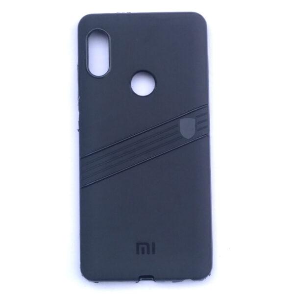 Redmi Note 5 Pro Line Back Cover Black Colour