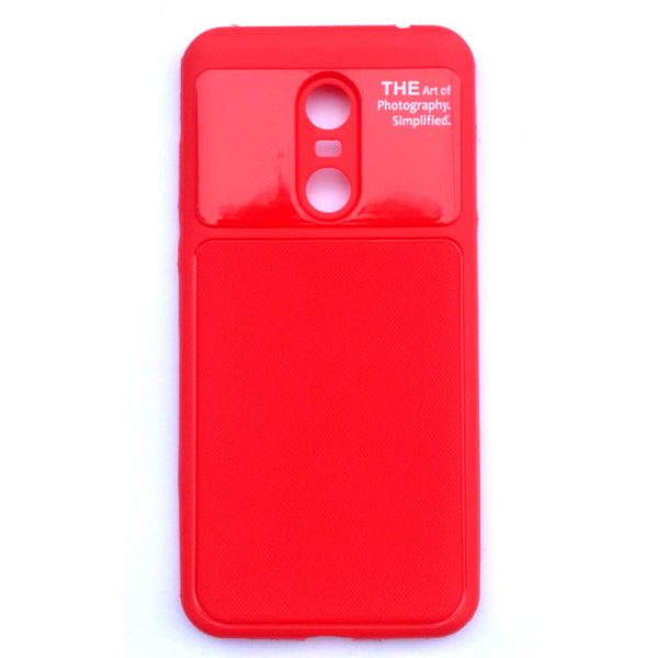 Art Of Photography Redmi Note 5 Back Cover Red