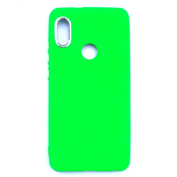 Smart Back Cover For Redmi Note 5 Pro Dark Green Colour