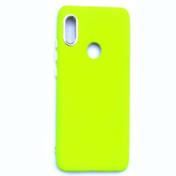 Smart Back Cover For Redmi Note 5 Pro Light Green Colour