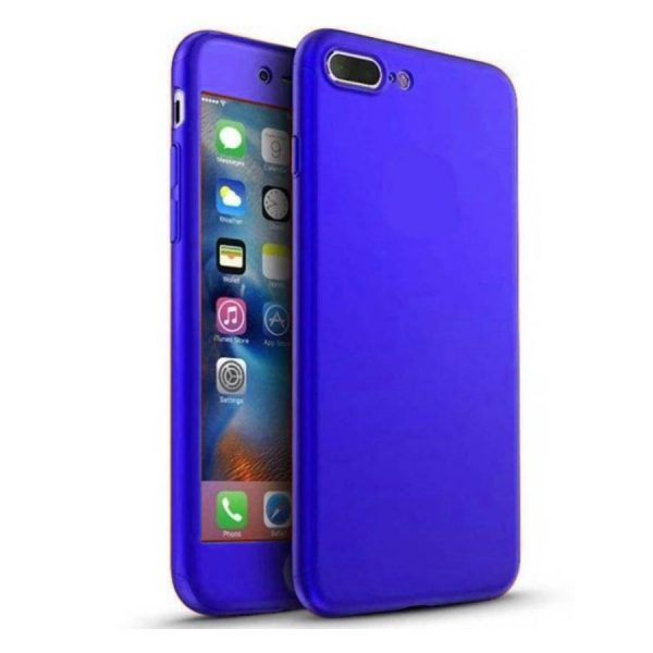 Ipaky 360 Back Cover for One Plus 5 Blue Color