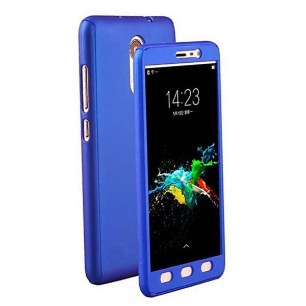 Ipaky 360 Back Cover for Redmi MI 5A Blue Color