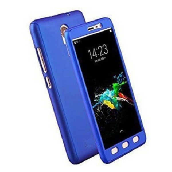 Ipaky 360 Back Cover for Redmi Note 4 Blue Color