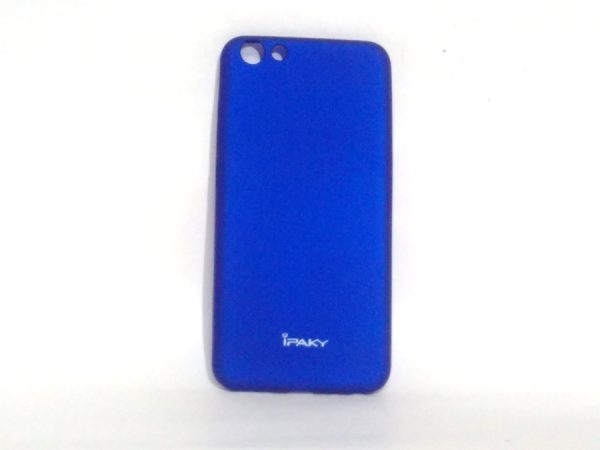 Ipaky Back Cover for Vivo Y69 Dark Blue Colour