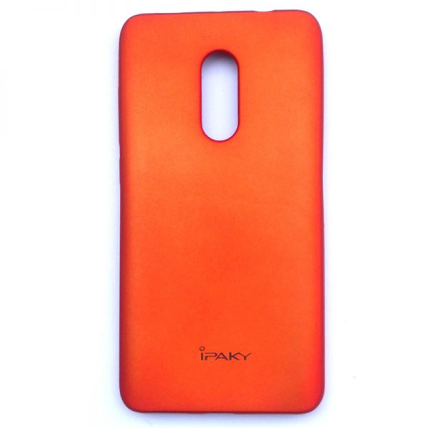 iPaky Redmi Note 4 velvet Touch Back Case Red