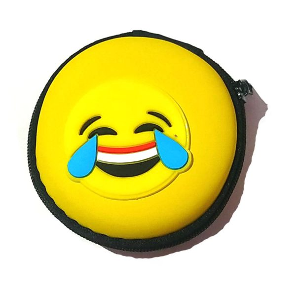 Laughing Smiley Carry Case Pouch