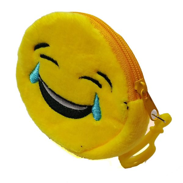 Laughing-Smiley-earphone-Pouch