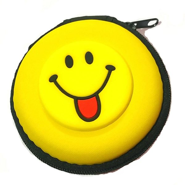 Tasty Smiley Carry Case Earphone Pouch