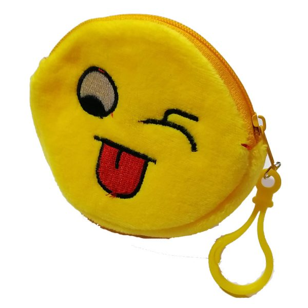 Wrinkle-Smiley-earphone-Pouch